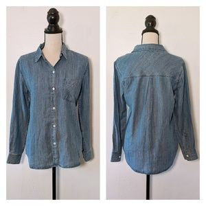 🆕NWT Rails Ingrid Chambray Button Down